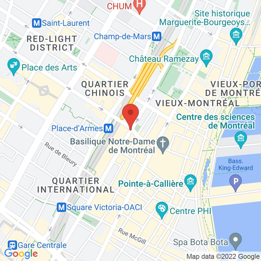 Google Map of La Maison du Magret