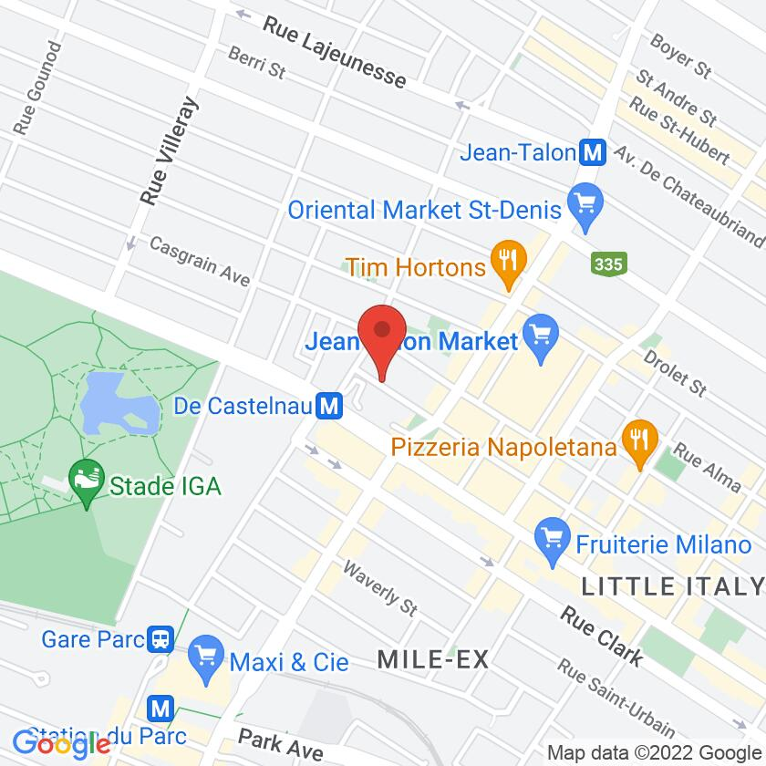 Google Map of Parma Cafe