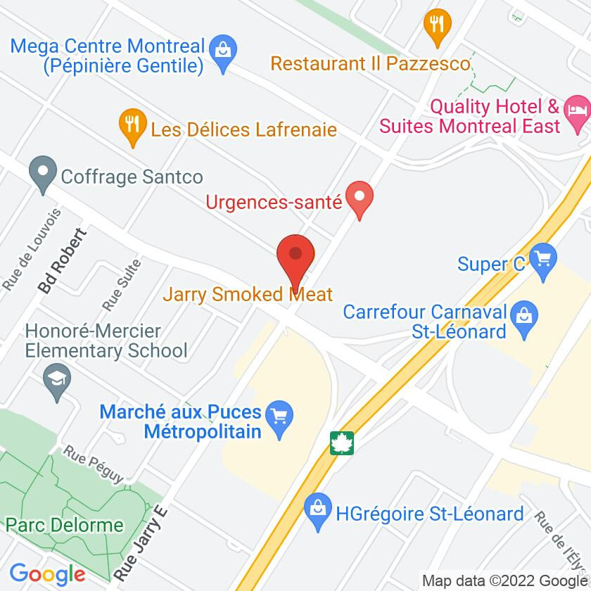 Google Map of Jarry Smoked Meat