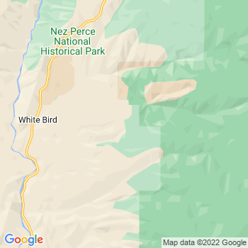 White Bird,id- map, population, zip codes, coutnies, area codes, time zones, households, income, news, weather, metro areas, local time at localistica.com
