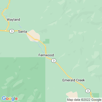 Fernwood,id- map, population, zip codes, coutnies, area codes, time zones, households, income, news, weather, metro areas, local time at localistica.com