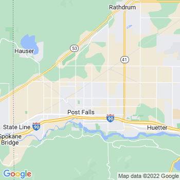 Post Falls,id- map, population, zip codes, coutnies, area codes, time zones, households, income, news, weather, metro areas, local time at localistica.com