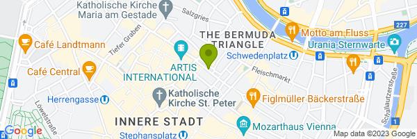 Standort Reisegourmet + Viennaguides