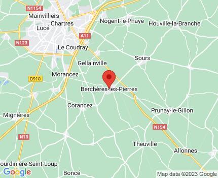 France (north) map