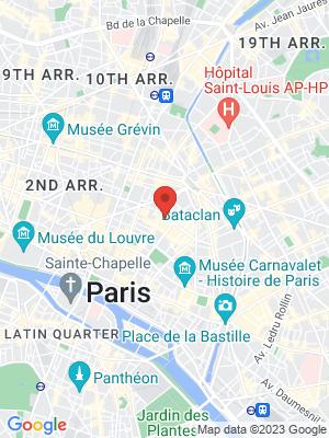 Location Map of Jean-Yves Bosse-Vidal