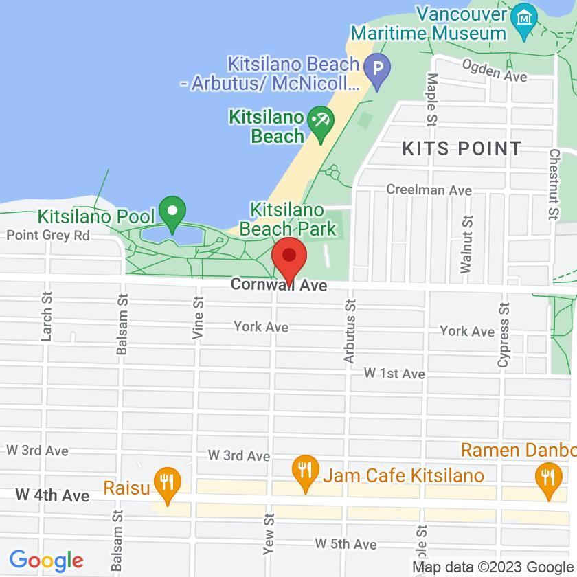 Google Map of Thai Basil Restaurant