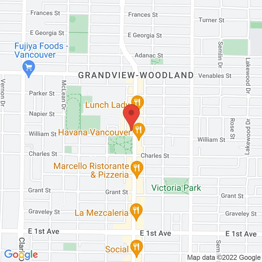 Google Map of Thai Basil Restaurant