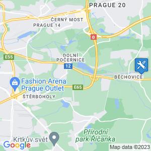 Umístění na mapě Google