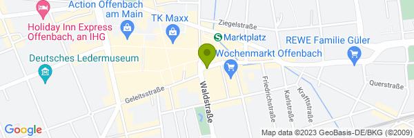 Standort Stadthalle Offenbach