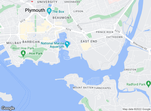 Map for Belvoir Lettings, Plymouth