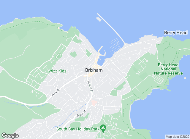 Map for Eric Lloyd & Co, Brixham