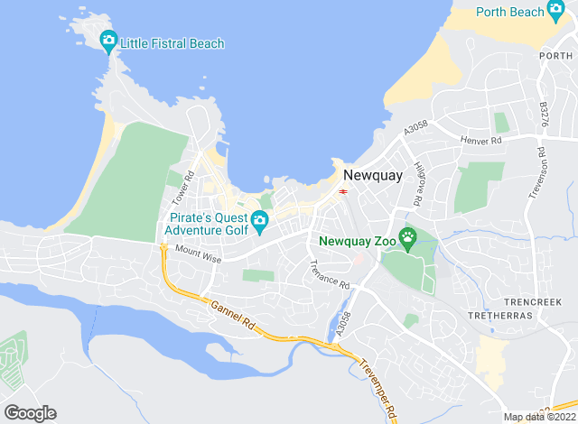 Map for Newquay Property Centre, Newquay