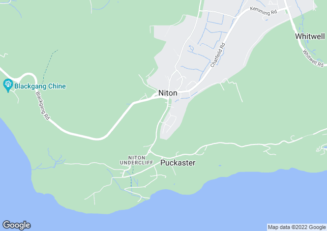 Map for NITON PO38 2BB