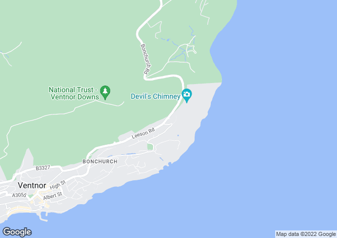 Map for Bonchurch , Bonchurch
