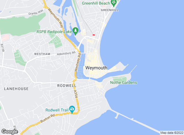 Map for Goadsby, Weymouth