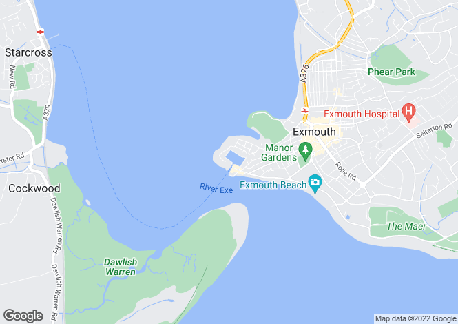 Map for Regatta Court, Shelly Road, Exmouth, Devon