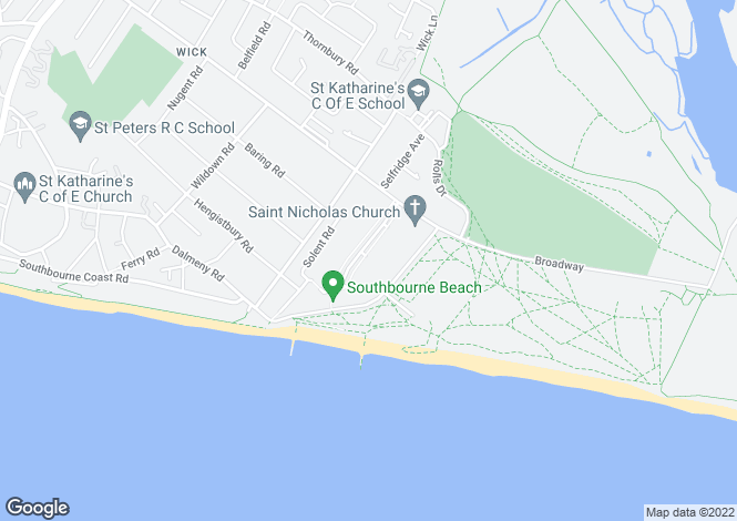Map for Clowes Avenue,