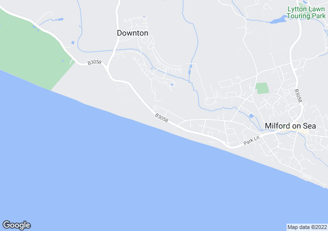 Map for OUTSTANDING VIEWS - Westminster Road, Milford On Sea, Lymington, Hampshire