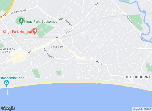 Map for Bullock & Lees, Southbourne