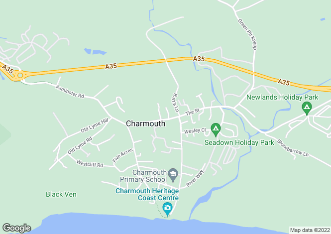 Map for The Street,