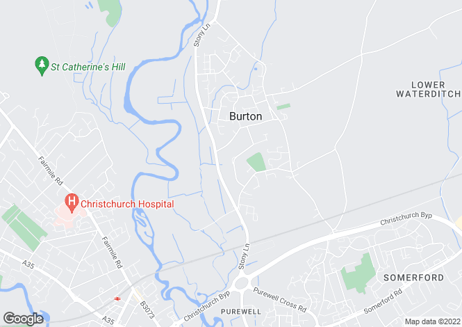 Map for Whitehayes Road, Burton