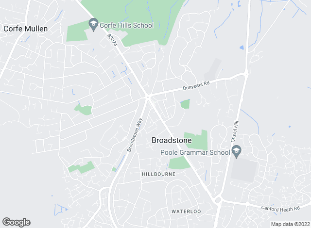 Map for Goadsby, Broadstone