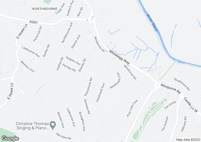 Map for Northbourne