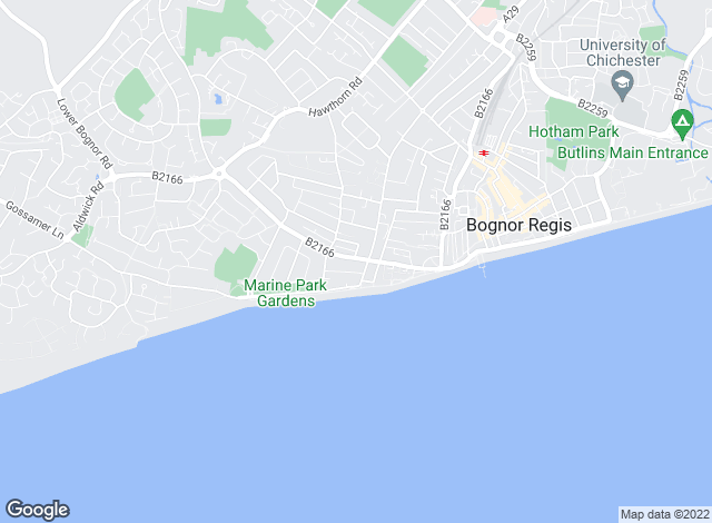 Map for Farndell Estate Agents, Bognor Regis