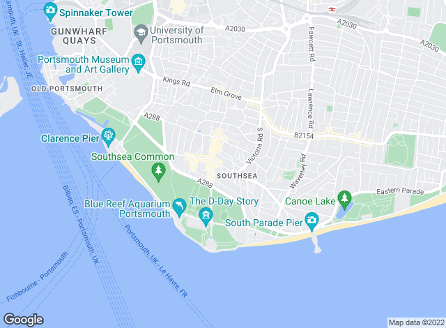 Map for Beals, Southsea