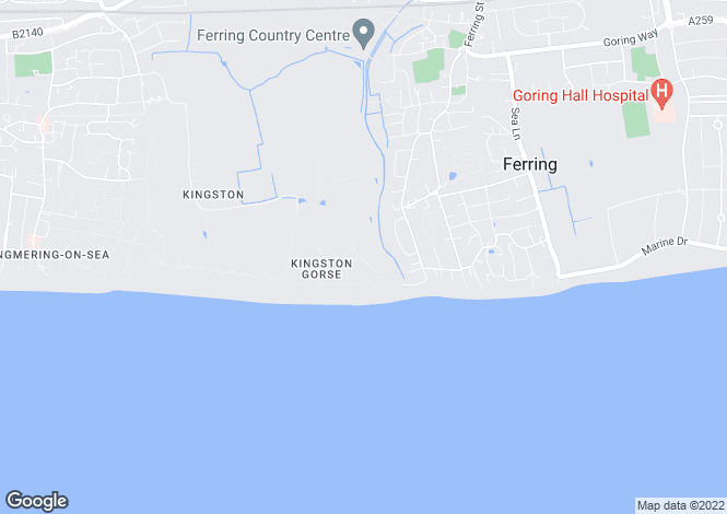 Map for Kingston Gorse, East Preston