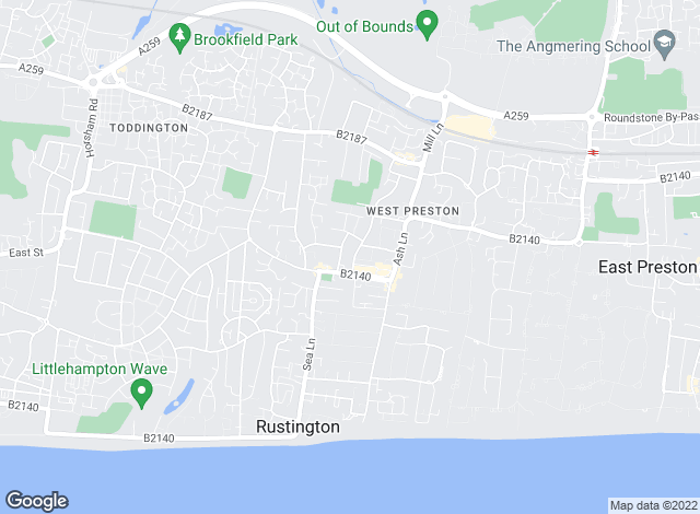 Map for Graham Butt Estate Agents, Rustington