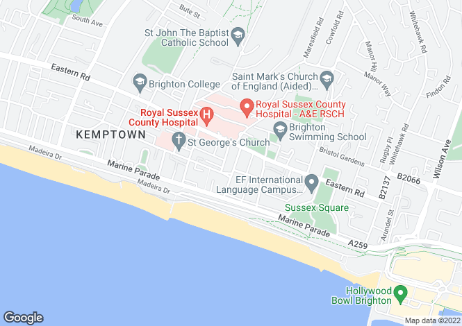 Map for Eaton Place, Brighton, BN2 1EG