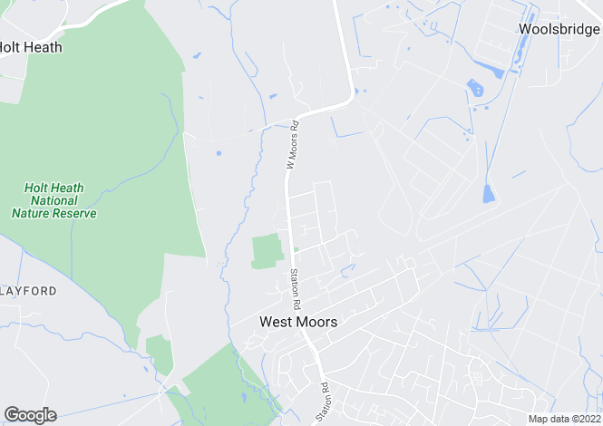 Map for Denewood Road,