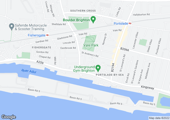 Map for Portslade
