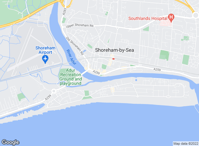 Map for Warwick Baker Estate Agents, Shoreham-By-Sea lettings