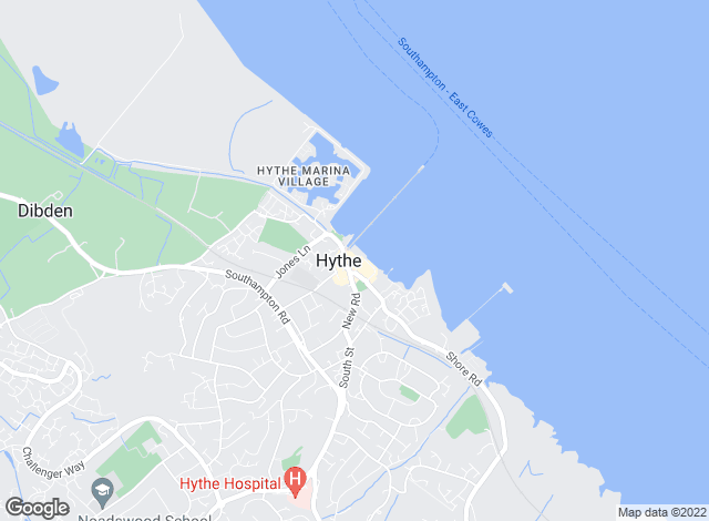 Map for Morris Dibben, Hythe