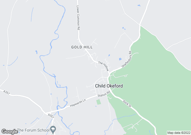 Map for Child Okeford, Blandford Forum, Dorset, DT11 8HS