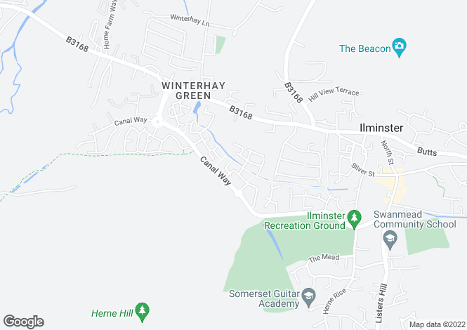 Map for Lower Meadow,