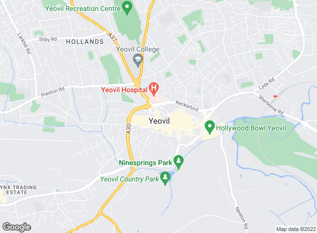 Map for Greenslade Taylor Hunt, Yeovil - Commercial