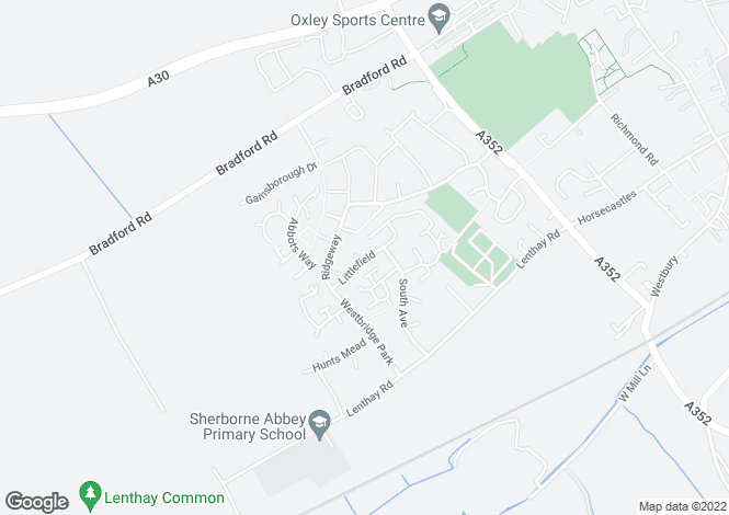 Map for Littlefield Sherborne  DT9