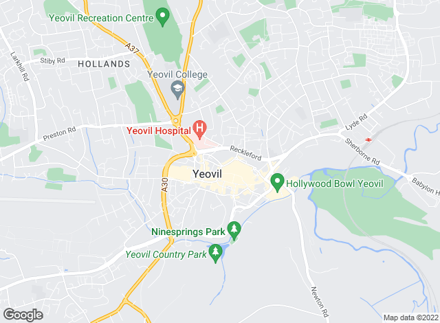 Map for Symonds & Sampson, Yeovil