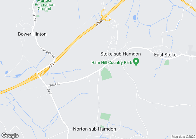 Map for West Street, Stoke-Sub-Hamdon
