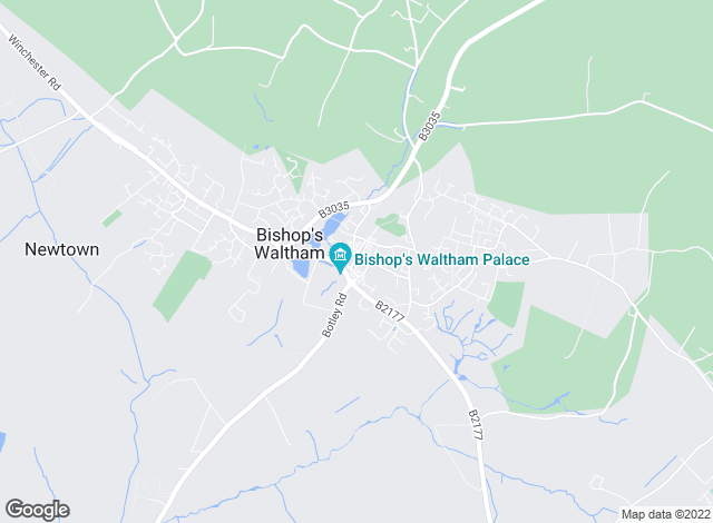 Map for Weller Patrick Estate Agents, Bishops Waltham