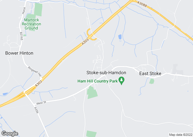 Map for Brocks Mount, Stoke-Sub-Hamdon, Somerset