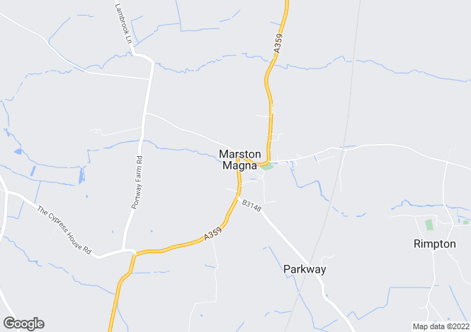 Map for Marston Magna, Somerset, BA22
