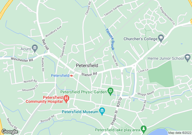 Map for Petersfield