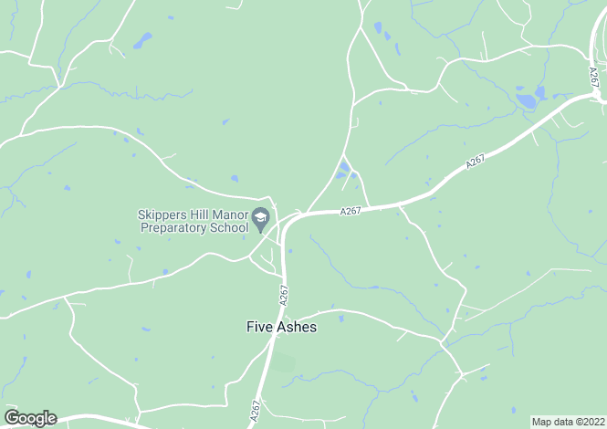 Map for Butcher Cross, Mayfield, East Sussex