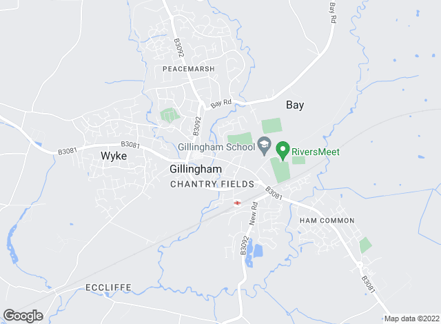 Map for Chapman Moore, Gillingham
