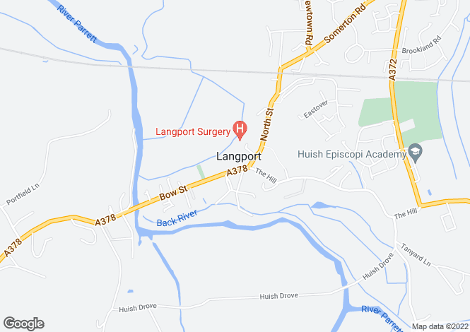 Map for Country Court Langport  TA10