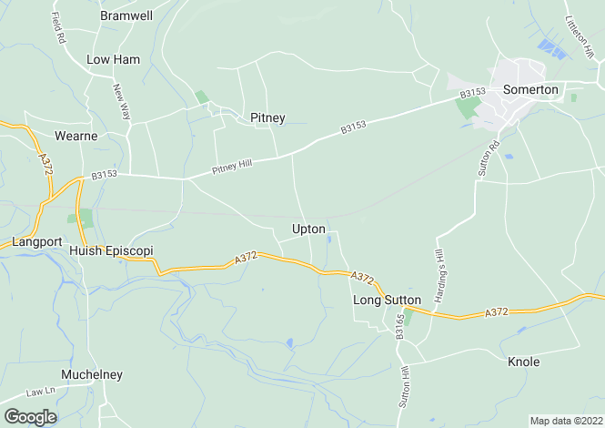 Map for Long Sutton, LANGPORT, TA10